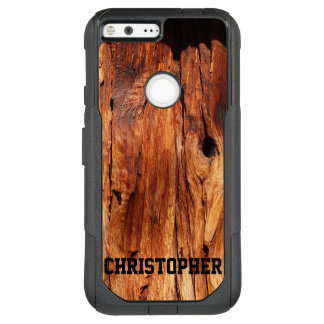 Faux Weathered Wood OtterBox Google Pixel XL