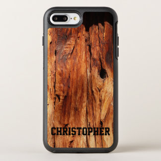 Faux Weathered Wood OtterBox iPhone 7 Plus