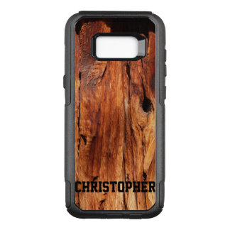 Faux Weathered Wood OtterBox Samsung Galaxy S8+