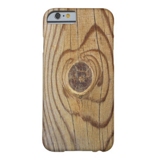 Faux Wood Barely There Phone Case