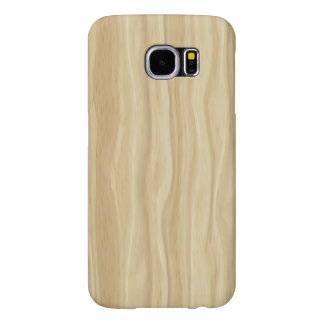 Faux Wood Grain Samsung Galaxy S6 Cases