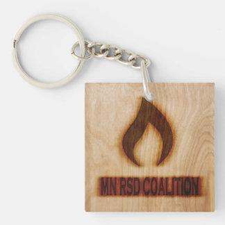 Faux Wood MN RSD Keychain
