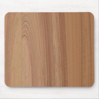 Faux Woodgrain Print Mousepad