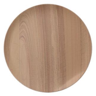 Faux Woodgrain Print Plate