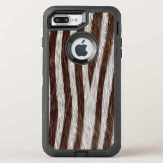 Faux zebra fur iPhone 7 plus