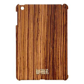 Faux Zebra Wood Grain Cover For The iPad Mini