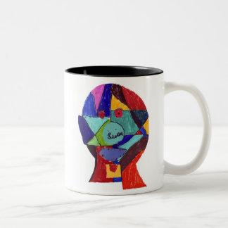 Favero-Lucas H Two-Tone Coffee Mug