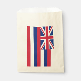 Favor bag with flag of Hawaii, USA