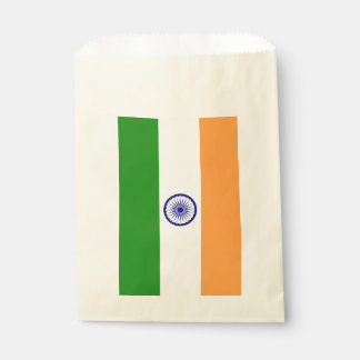 Favor bag with flag of India