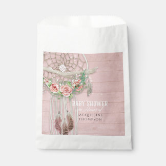 Favor Bags Baby Girl Shower Dream Catcher BOHO Art