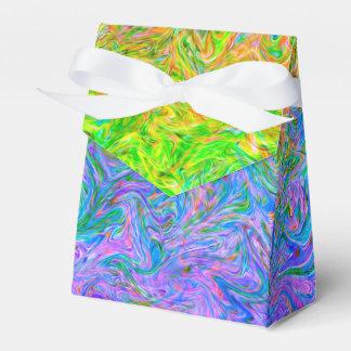 Favor Box Fluid Colors Favour Boxes