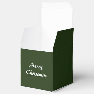 Favor Box Green