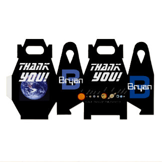 Favor Box Planets, Outer Space, Earth