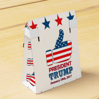 Favor Box Tent - President Trump with Thumbs Up