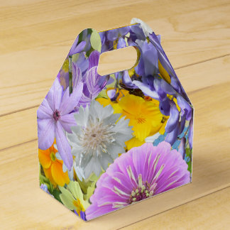 Favor/Gift Box - Flowers and Butterflies Party Favour Boxes