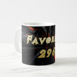 Favorite 296 coffee mug