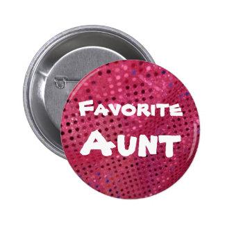 Favorite Aunt   Button