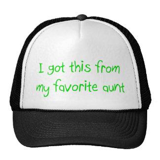 Favorite Aunt Hat
