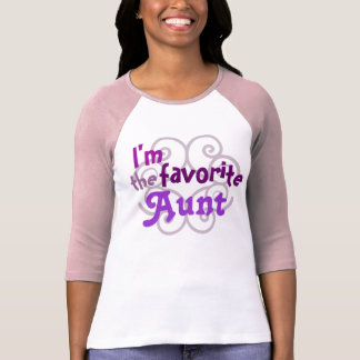 Favorite Aunt T Shirt