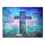 Favorite Bible Verses with Christian Cross Postcards