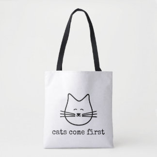 favorite cats comes first tote