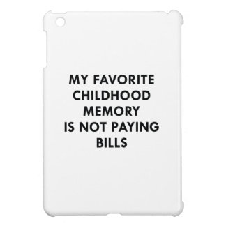 Favorite Childhood Memory iPad Mini Case
