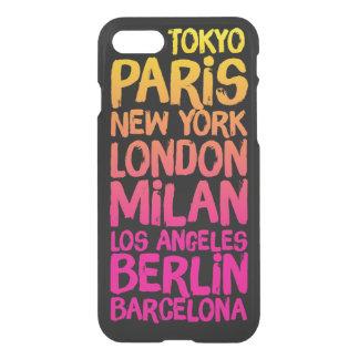 Favorite Cities Neon iPhone 7 Case