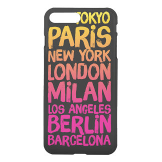 Favorite Cities Neon iPhone 8 Plus/7 Plus Case
