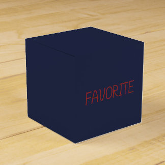Favorite Classic Favor Box