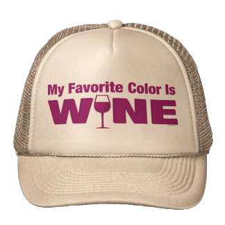 Favorite Color Is Wine Cap