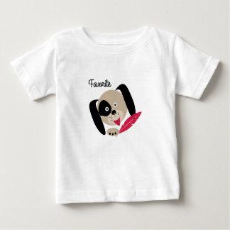 Favorite dog . baby T-Shirt