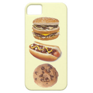 Favorite Food Groups Hamburger Hot Dog Cookie iPhone 5 Cases