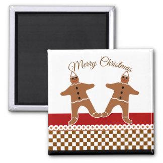 Favorite Gingerbread Man Cookie Christmas Magnet