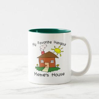Favorite Hangout Meme's House Mugs