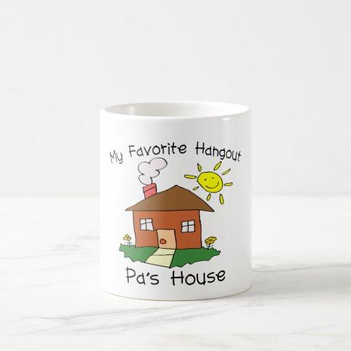 Favorite Hangout Pa's House Coffee Mug