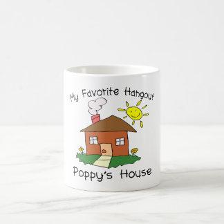 Favorite Hangout Poppy's House Basic White Mug
