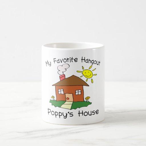 Favorite Hangout Poppy's House Mug