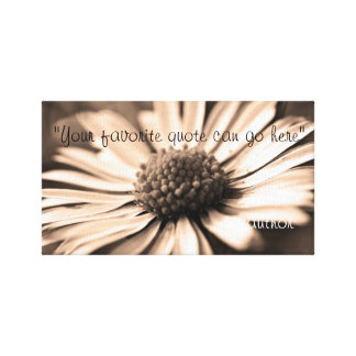 inspirational quotes wrapped canvas prints