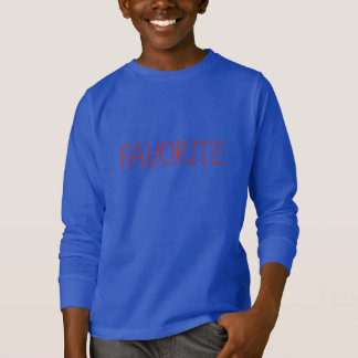 Favorite Kids' Long Sleeve T-Shirt