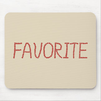 Favorite Mousepad