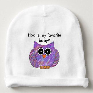 Favorite Owl Baby Hat Baby Beanie
