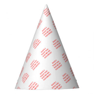 FAVORITE PARTY HAT