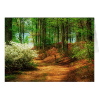 Favorite Path - Blank Verse Greeting Card