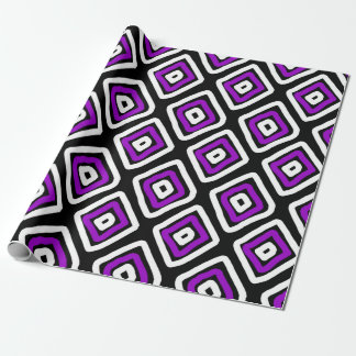 Favorite Pattern Purple Wrapping Paper