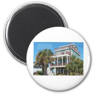 Favorite Places 6 Cm Round Magnet