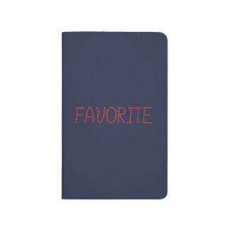 Favorite Pocket Journal