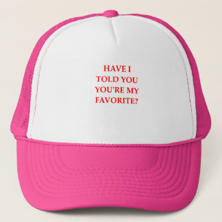 FAVORITE TRUCKER HAT