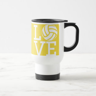 Favorite Volleyball Athlete Good - Yellow Sport Travel Mug