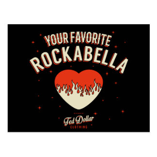 Favorite Your Rockabella Postcard