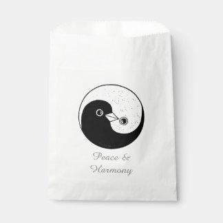 Favour Bags YinYang Dove Harmomy